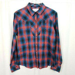 Panhandle Slim Rhinestone Embellished Shirt